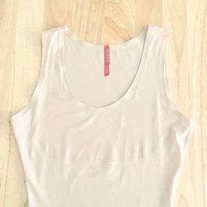 Spanx Thinstincts Tank Top Small Soft Nude